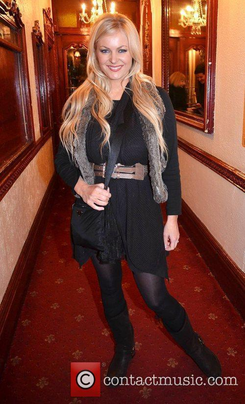 Amanda Brunker,  at the opening night of...