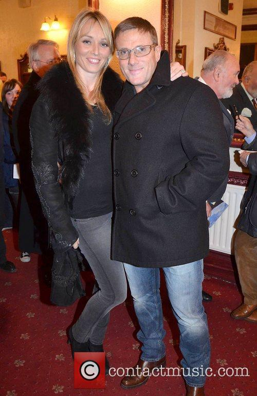 Siobhan Stevens, Paul Byrne,  at the opening...