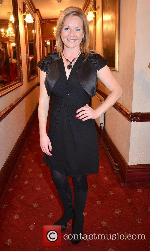 Claire Byrne,  at the opening night of...