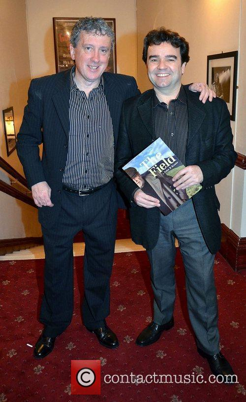 Billy Keane, Donal Shiels,  at the opening...