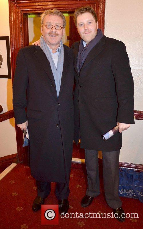 Michael Colgan, son Richard Colgan,  at the...