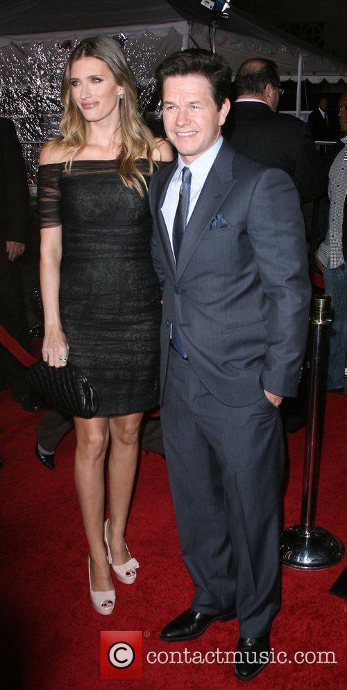 Rhea Durham and Mark Wahlberg Los Angeles Premiere...