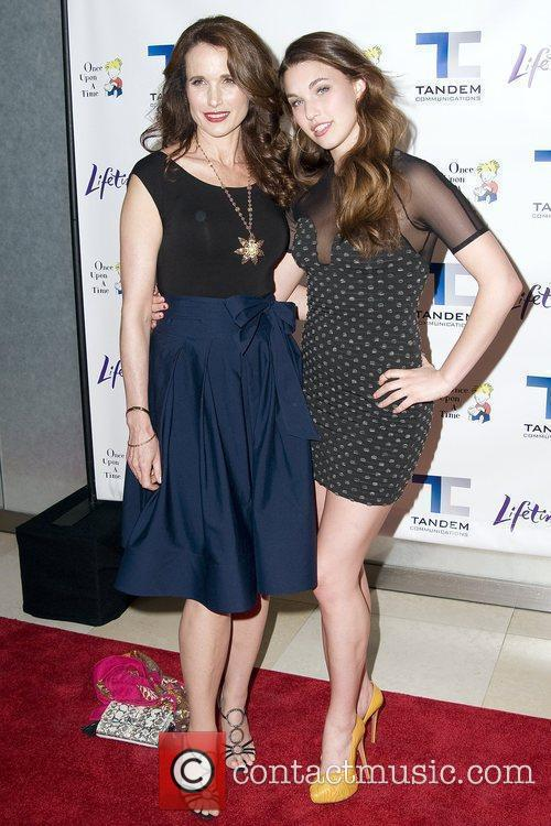 Andie Macdowell and Her Daughter Rainey Qualley 8