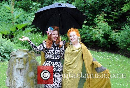 Dame Vivienne Westwood and Paloma Faith The Garden...