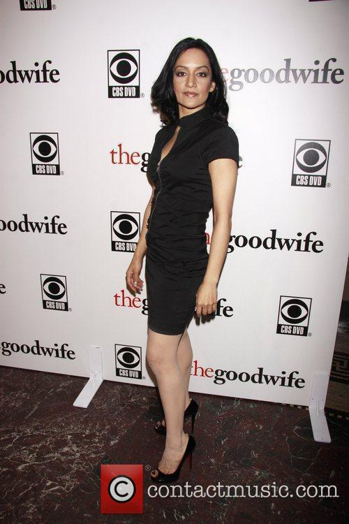 Archie Panjabi and Cbs 5