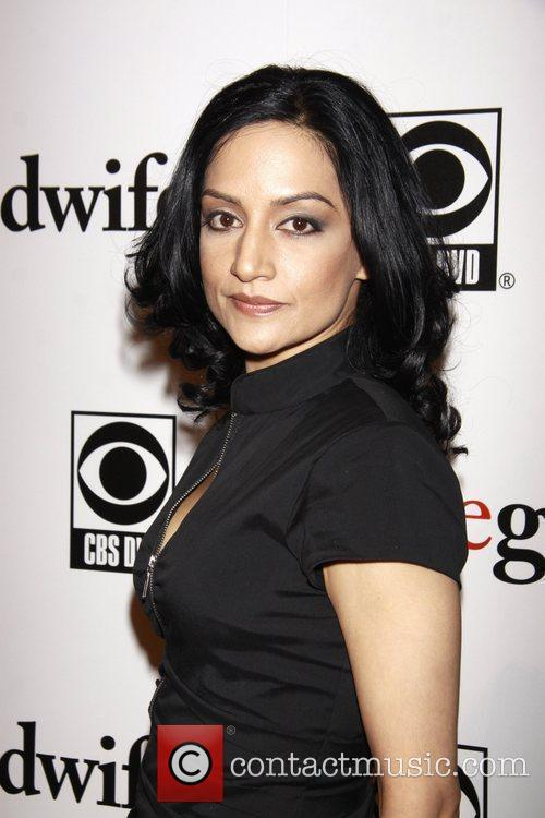 Archie Panjabi and Cbs 3