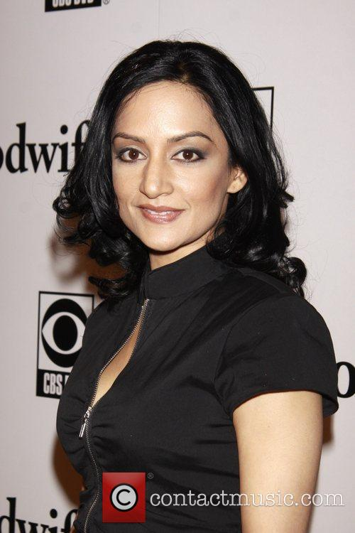 Archie Panjabi and Cbs 6