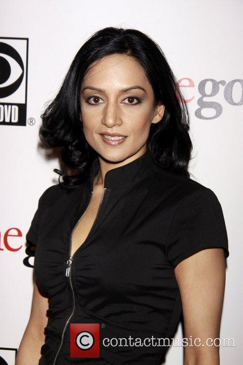 Archie Panjabi and Cbs 2