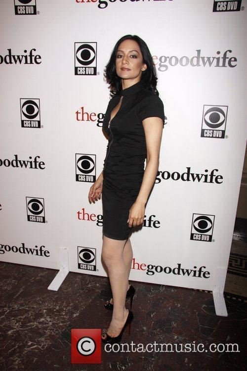 Archie Panjabi and Cbs 1
