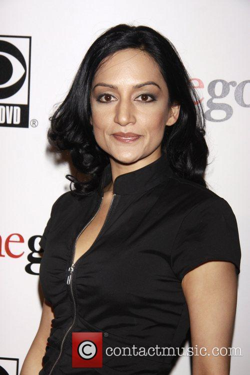 Archie Panjabi and Cbs 4