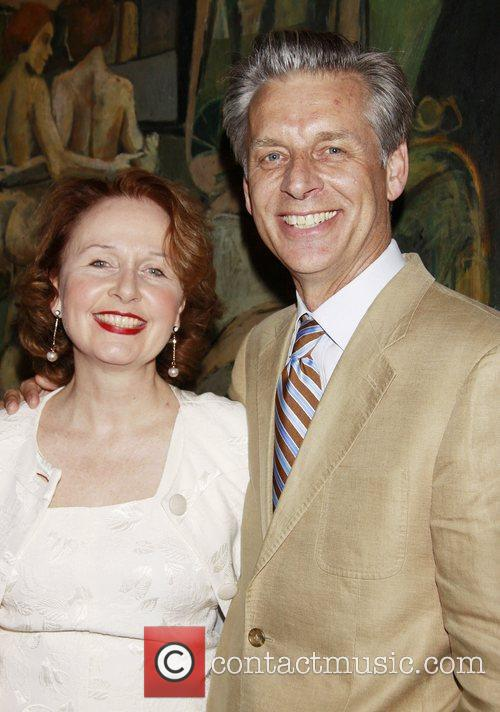Kate Burton and her husband Michael Ritchie 1