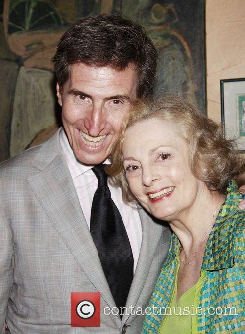 Paul Rudnick and Dana Ivey Opening Night after...