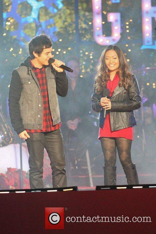 David Archuleta and Charice 2
