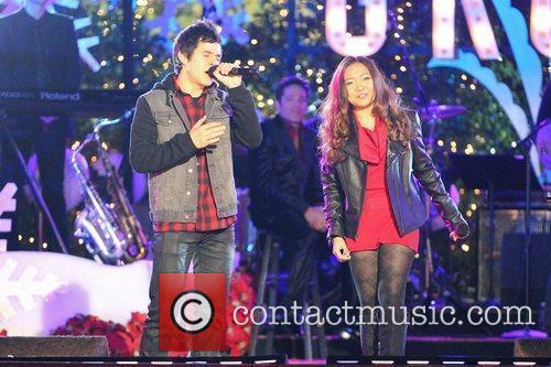 David Archuleta and Charice 5
