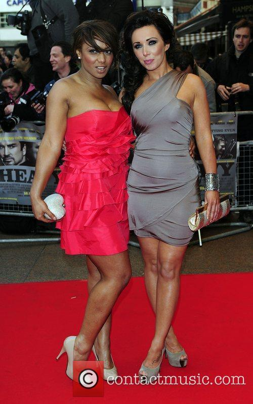 Guests UK Premiere of 'The Heavy' held at...