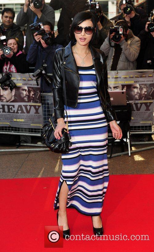 Leah Weller UK Premiere of 'The Heavy' held...