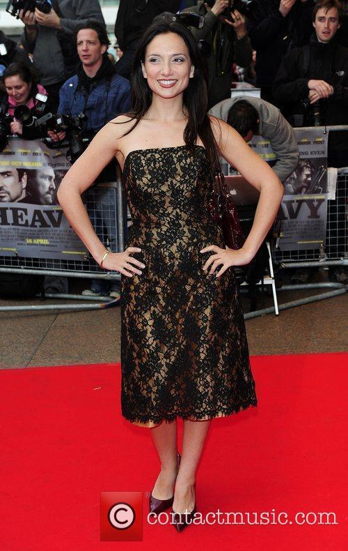 Leila Birch UK Premiere of 'The Heavy' held...