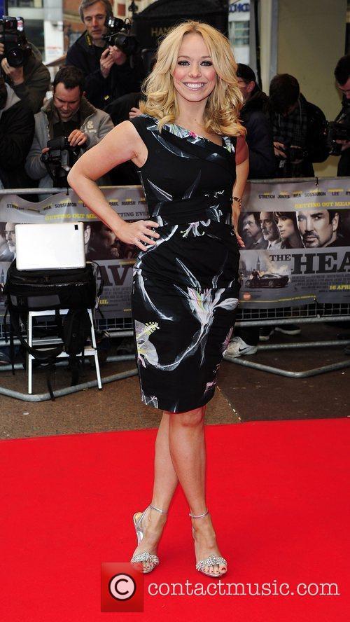 Liz McClarnon UK Premiere of 'The Heavy' held...