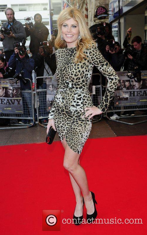 Meredith Ostrom UK Premiere of 'The Heavy' held...
