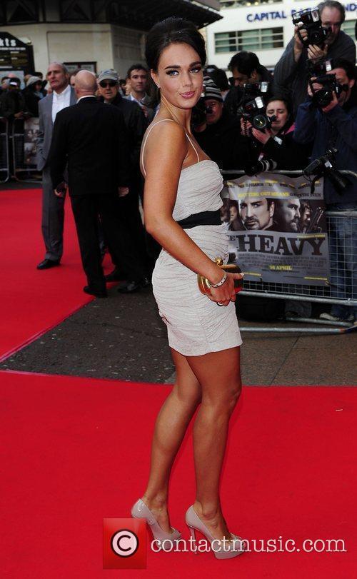 Tamara Ecclestone UK Premiere of 'The Heavy' held...