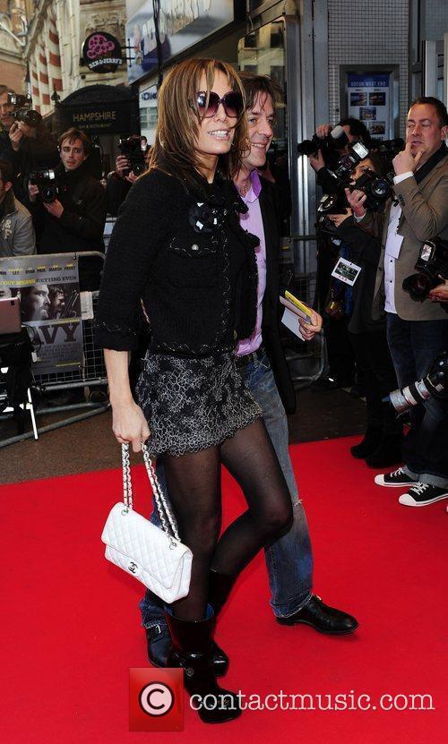 Tara Palmer-Tomkinson UK Premiere of 'The Heavy' held...