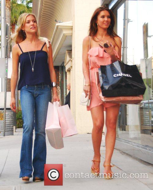 Kristin Cavallari and Audrina Patridge from the television...