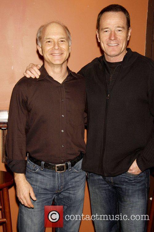 Dan Butler and Bryan Cranston