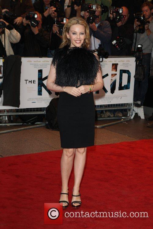 Kylie Minogue 'The Kid' - UK premiere of...