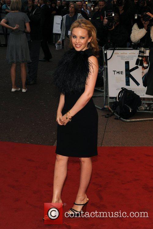 Kylie Minogue The Kid - UK film premiere...