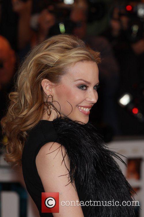 Kylie Minogue UK premiere of The Kid held...