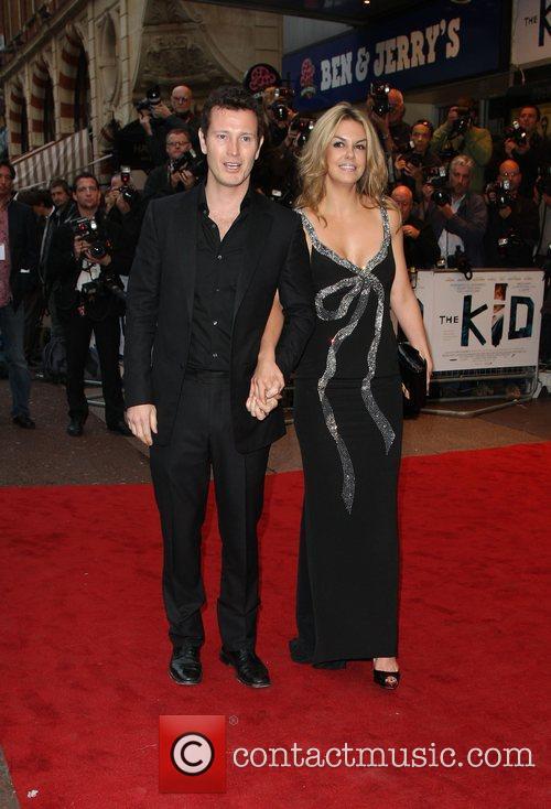 Nick Moran and girlfriend The Kid - UK...