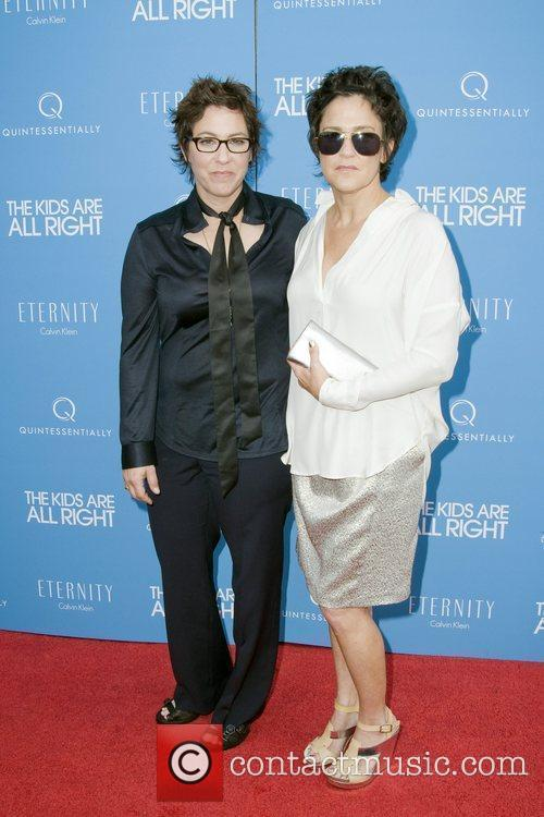 Lisa Cholodenko and Wendy Melvoin New York premiere...