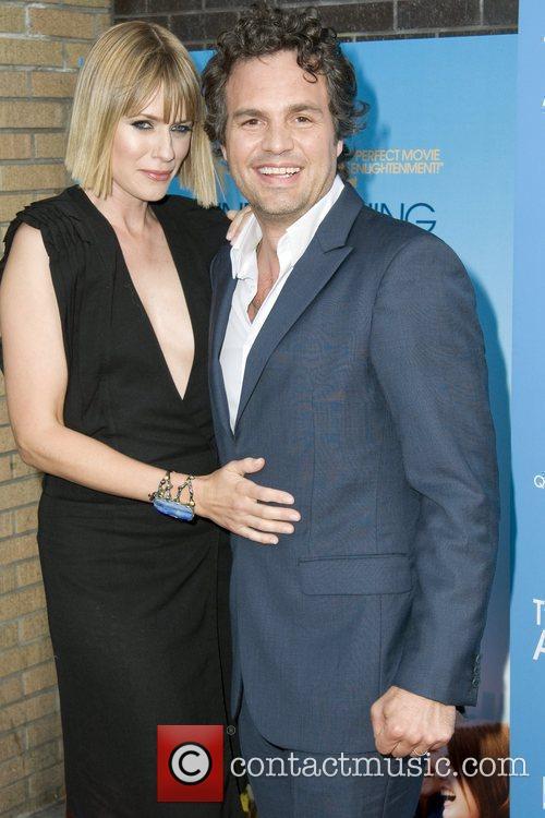 Mark Ruffalo and his wife Sunrise Coigney...