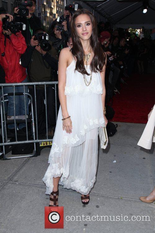 Jessica Alba The Tribecca Film Festival 2010 premiere...