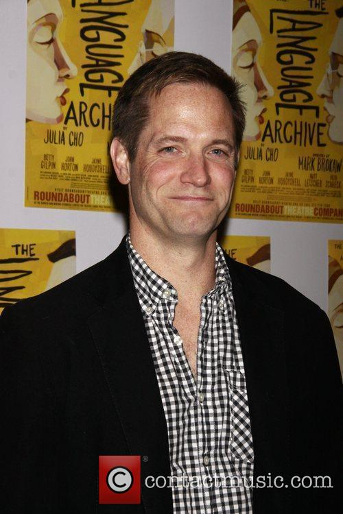 Matt Letscher Opening night of the Off-Broadway production...