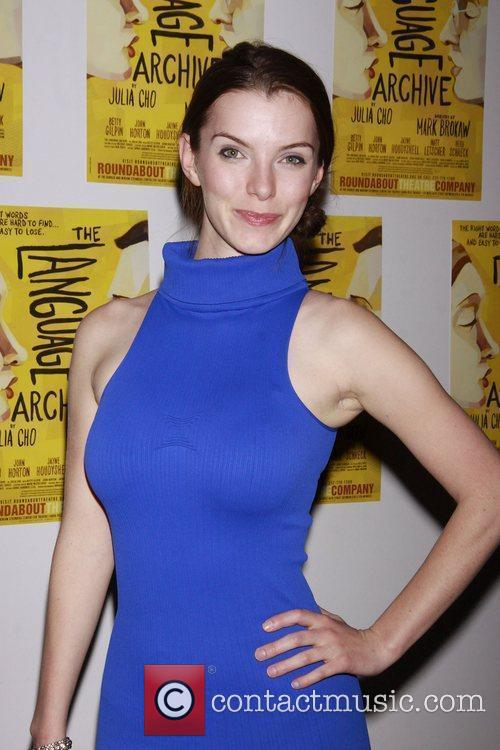 Betty Gilpin Opening night of the Off-Broadway production...