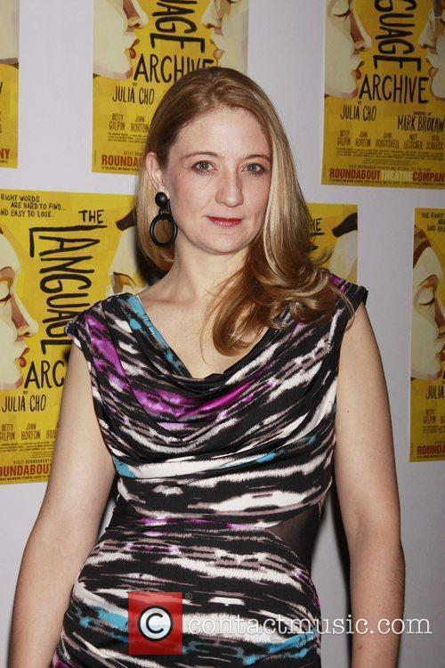 Heidi Schreck  Opening night of the Off-Broadway...