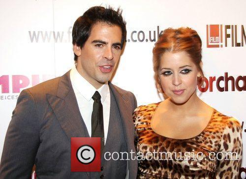 Eli Roth and Peaches Geldof  Premiere of...