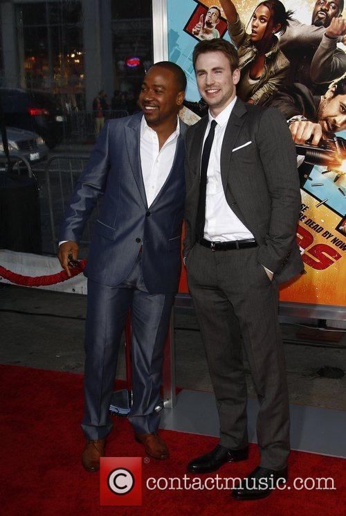 Columbus Short and Chris Evans 8