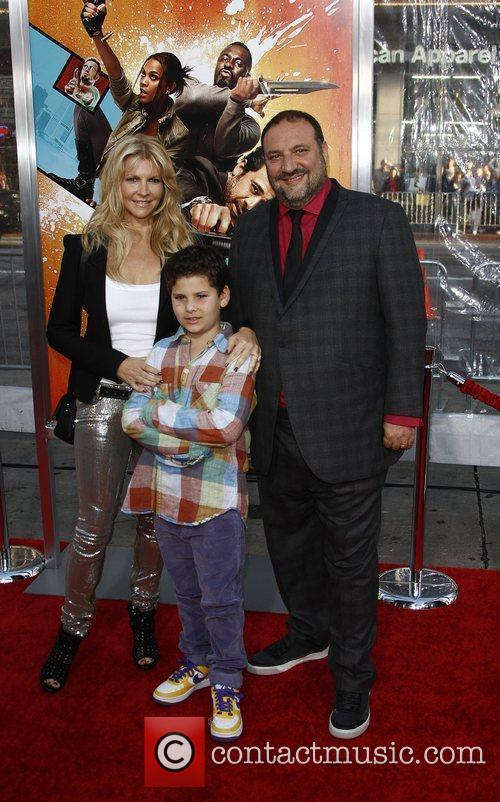 Joel Silver With His Family 4