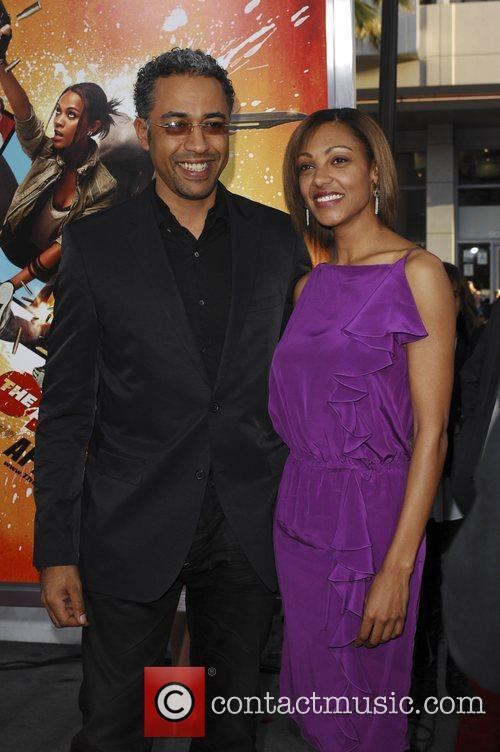 Director Sylvain White and wife  The LA...