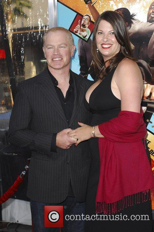 Neal McDonough and wife  The LA premiere...