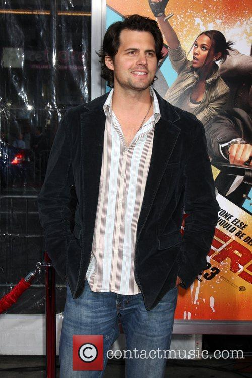 Kristoffer Polaha The LA premiere of The Losers...