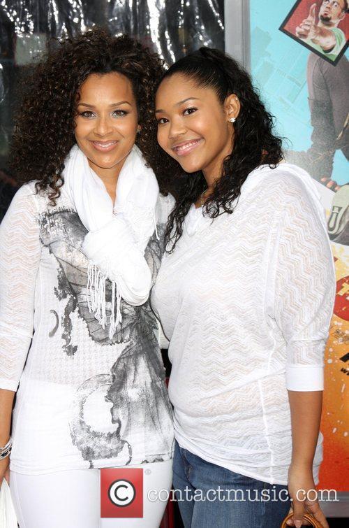 LisaRaye McCoy & Daughter Kai The LA premiere...