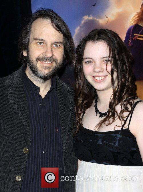Peter Jackson and His Daughter Katie Jackson 1