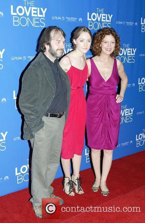 Peter Jackson, Saoirse Ronan and Susan Sarandon 2