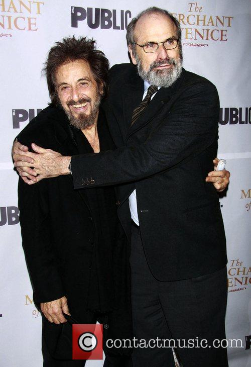 Al Pacino and Daniel Sullivan  Opening night...