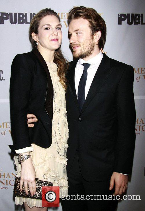 Lily Rabe and her brother Michael Rabe...