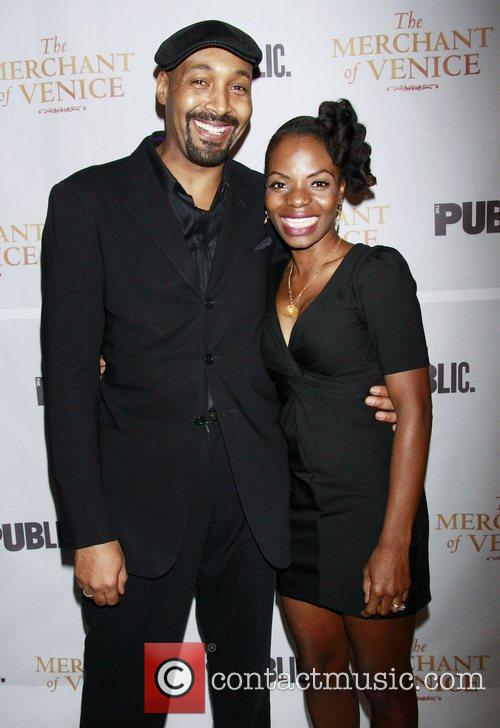 Jesse L. Martin and Marsha Stephanie Blake...