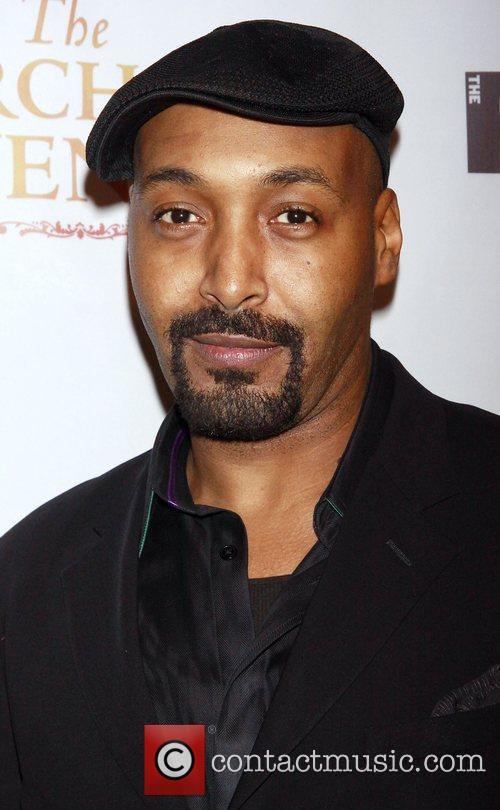 Jesse L. Martin Opening night after party celebration...